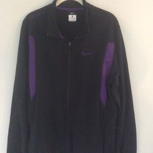 Nike active wear zip up jacket